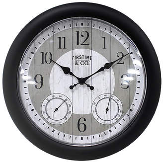 FirsTime & Co. Summer Cottage Outdoor Clock