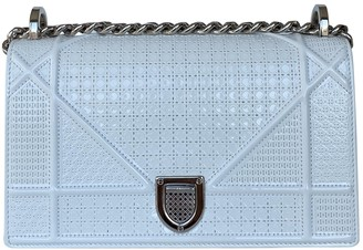 Christian Dior Diorama White Patent leather Handbags