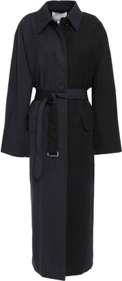 3.1 Phillip Lim Oversized Belted Wool-twill Trench Coat