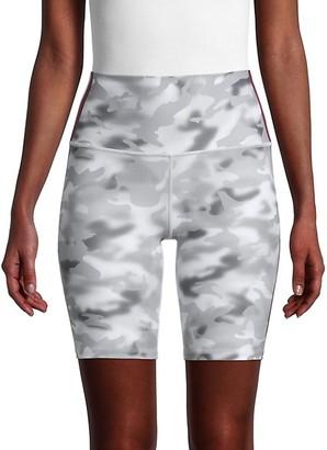 Wear It To Heart Smoke Blur Print Shorts