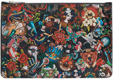 DSQUARED2 Multicolor Tattoo Pouch