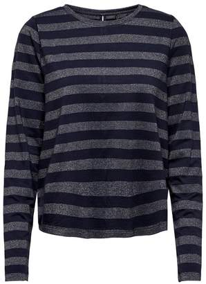 Only Striped Long-Sleeved T-Shirt
