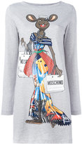 Moschino Rat-A-Porter T-shirt dress - women - Cotton - XXS