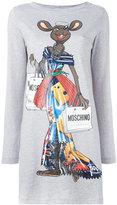 Moschino Rat-A-Porter T-shirt dress