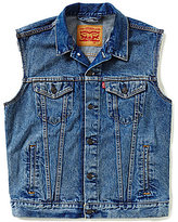 Levi's Trucker Button-Front Denim Vest