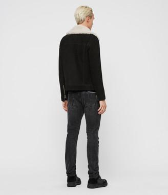 AllSaints Lock Leather Jacket