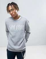 Volcom Discord Sweatshirt With Large Logo