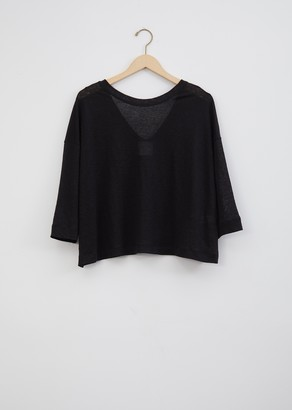 Forte Forte Linen Jersey 3/4 Sleeve T-Shirt