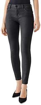 DL1961 Florence Skinny Ankle Jeans in Pewter