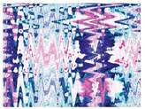 Urban Road Psychedelic Canvas Print, Psy Blue/Pink 60x90cm