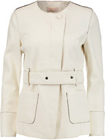 Tory Burch Textured-leather jacket
