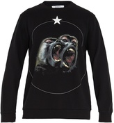Givenchy Monkey Brothers-print cotton sweatshirt