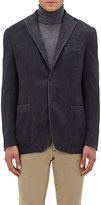 Boglioli Women's Silk-Cashmere Three-Button Sportcoat-LIGHT GREY