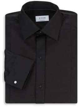 Eton Contemporary-Fit Diamond Pique Dress Shirt