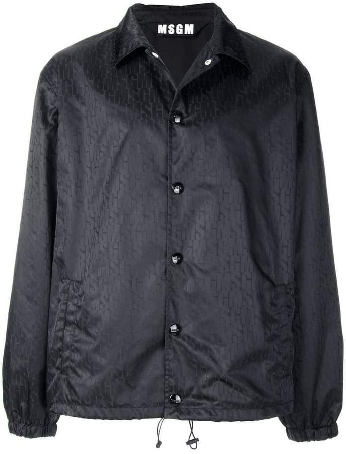 MSGM branded lightweight jacket