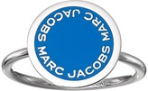 Marc Jacobs Logo Disc Enamel Logo Disc Ring