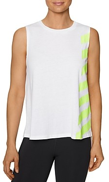 Betsey Johnson Striped Muscle Tank Top (47% off) Comparable value $38