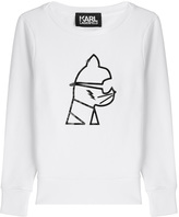 Karl Lagerfeld Graphic Statement Sweatshirt