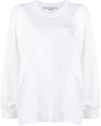 Stella McCartney Embossed Logo Sweatshirt
