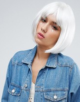 Asos Halloween White Faux Hair Wig