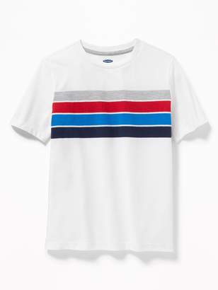 Old Navy Chest-Stripe Softest Tee for Boys
