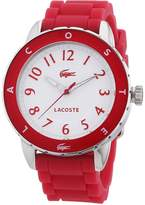 Lacoste Women's Rio 2000746 Pink Silicone Analog Quartz Watch with Dial