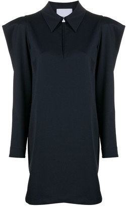 Erika Cavallini Statement Puff-Sleeve Dress