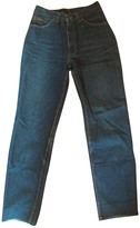 Carrera Blue Cotton Jeans for Women Vintage