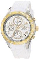 Invicta Women's 12096 Specialty Chronograph White Rubber Watch