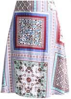 White Stuff TRANQUIL REVERSIBLE Aline skirt multi