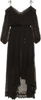 Zimmermann Realm polka-dot embroidered silk-georgette dress