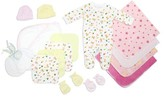 Bambini Newborn Baby Shower Layette Gift Set, 17pc (Baby Girls)