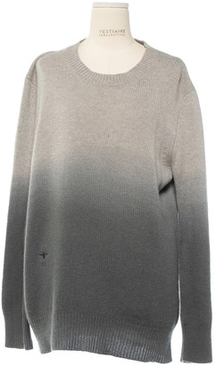 Christian Dior Grey Cashmere Knitwear for Women