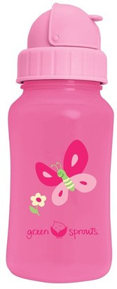 Green Sprouts Straw Bottle-Pink