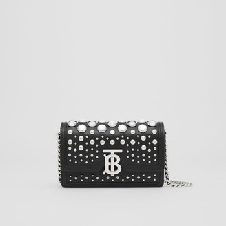 Burberry Mini Embellished Leather Shoulder Bag