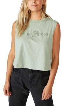 Cotton On Marley Graphic Muscle Tank Top