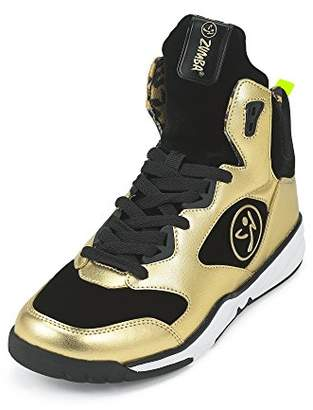 Zumba Energy Boom High Top Athletic shoes Dance training Workout sneakers for women with Enhanced ankle support