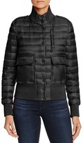 Moncler Silene Down-Filled Bomber Jacket