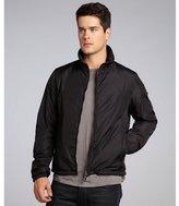 Prada Sport black nylon zip front jacket