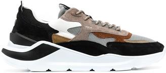 D.A.T.E Colour-Block Sneakers