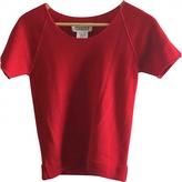 Maison Margiela Red Cotton Knitwear