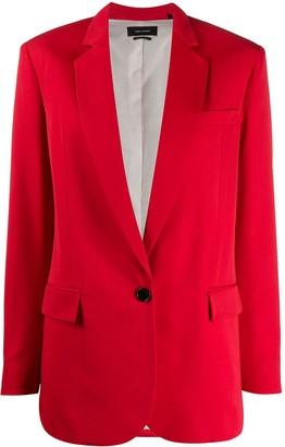 Isabel Marant Single-Breasted Blazer Jacket