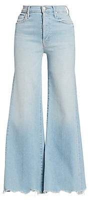 Mother Women's Tomcat High-Rise Flare Jeans