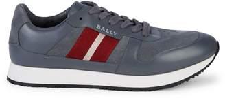 Bally Sprinter Striped Sneakers