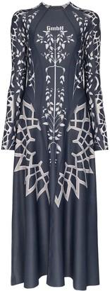 GmbH Printed Maxi Dress