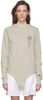 Rick Owens Off-White Champion Edition Long Sleeve T-Shirt