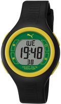 Puma Men's Active PU910541016 Black Plastic Quartz Watch with Dial