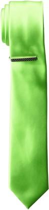 Nick Graham Men's Solid Satin Slim Tie Clip