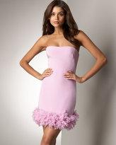 Floral-Hem Dress