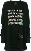 Bernhard Willhelm Master Of The Universe sweatshirt